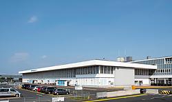 Prestwick Airport in Ayrshire, Scotland, UK
