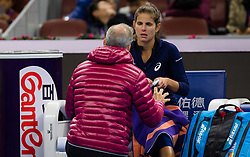 September 29, 2018 - Julia Goerges of Germany in action during her first-round match at the 2018 China Open WTA Premier Mandatory tennis tournament (Credit Image: © AFP7 via ZUMA Wire)