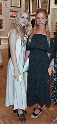 Anais Gallagher, Lady Amelia Windsor and Poppy Fordham at the Royal Academy Of Arts Summer Exhibition Preview Party 2018 held at The Royal Academy, Burlington House, Piccadilly, London, England. 06 June 2018.