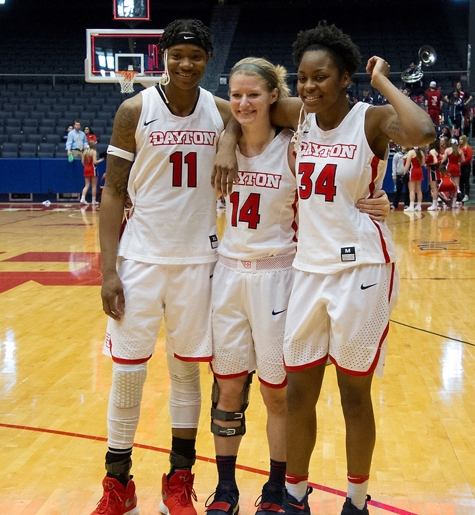 Flyers Women's Clinch Share Of A-10 Title On Senior Day