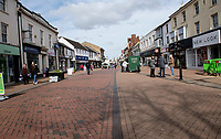 Bicester is almost empty on the  first saturday since the clubs puts restaurants and cinemas have been closed to help stop the spread  of the coronavirusphoto by brian Jordan