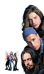 Aug 05, 1994; Los Angeles, CA, USA; Actor BRENDAN FRASER as Chazz, ADAM SANDLER as Pip and STEVE BUSCEMI as Rex in the Island World comedy, 'Airheads.' Directed by Michael Lehmann. (Credit Image: © Courtesy of Island World/Entertainment Pictures/ZUMAPRESS.com)