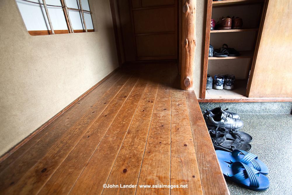 Japanese Genkan Entrance John Lander Photography
