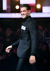 Jonny Mitchell enters the house during the Celebrity Big Brother Men's Launch held at Elstree Studios in Borehamwood, Hertfordshire.