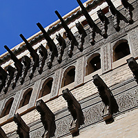 Africa, Morocco, Fes. Al-Attarine Madrasa, in the UNESCO World Heritage Site city of Fes.
