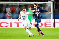 Adrien RABIOT / Ahmed KASHI - 28.04.2015 - Paris Saint Germain / Metz - Match en retard - 32eme journee Ligue 1<br />Photo : Nolwenn Le Gouic / Icon Sport