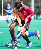 ROTTERDAM - Rizwan Muhammad (Oranje-Rood)  tijdens de wedstrijd om de derde plaats , Kampong- Oranje Rood , bij de ABN AMRO cup. COPYRIGHT KOEN SUYK