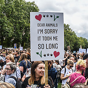 London - Animal Rights March 2018