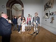 JIM BIRDSELL; ANA BARTOLONE, Royal Academy of Arts Summer Party. Burlington House, Piccadilly. London. 7June 2017