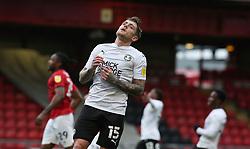 Sammie Szmodics of Peterborough United rues a missed chance to score - Mandatory by-line: Joe Dent/JMP - 14/11/2020 - FOOTBALL - Alexandra Stadium - Crewe, England - Crewe Alexandra v Peterborough United - Sky Bet League One