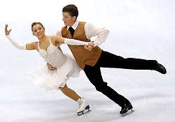 23.03.2010, Torino Palavela, Turin, ITA, .ISU World Figure Skating Championships Turin 2010 im Bild Kira Geil und Dmitri Matsjuk (AUT), EXPA Pictures © 2010, PhotoCredit: EXPA/ InsideFoto/ Perottino / SPORTIDA PHOTO AGENCY