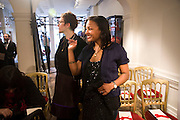 NIKKI TIBBLES; STEPHANIE SIMON. The Launch of the Lanvin store on Mount St. Presentation and cocktails.  London. 26 March 2009