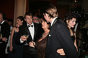 Ben Goldsmith, Lady Annabel Goldsmith and Ben Elliot, THE DINER DES TSARS in aid of UNICEF. To celebrate the launch of Quintessentially Wine, Guildhall. London. 29 March 2007.  -DO NOT ARCHIVE-© Copyright Photograph by Dafydd Jones. 248 Clapham Rd. London SW9 0PZ. Tel 0207 820 0771. www.dafjones.com.