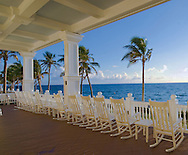 Florida, Fort Lauderdale,Pelican Grand Beach Resort, porch