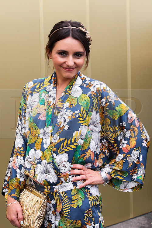 © Licensed to London News Pictures. 06/11/2012. Australian actor  Pia Miranda during the Emirates Melbourne Cup at the Flemington Racecourse, Melbourne. Photo credit : Asanka Brendon Ratnayake/LNP