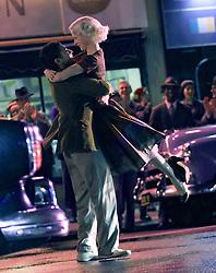 "EXCLUSIVE: Rachel Brosnahan films season two of ""The Marvelous Mrs Maisel"". 05 Sep 2018 Pictured: Rachel Brosnahan. Photo credit: SteveSands/NewYorkNewswire/MEGA TheMegaAgency.com +1 888 505 6342"