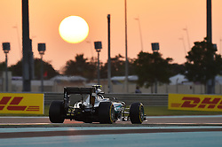 Weltmeister 2016 Nico Rosberg (GER#6), Mercedes AMG Petronas Formula One Team beim Rennen im Rahmen des Grand Prix von Abu Dhabi auf dem Yas Marina Circuit / 271116<br /> <br /> ***Abu Dhabi Formula One Grand Prix on November 27th, 2016 in Abu Dhabi, United Arab Emirates - Race Day ***