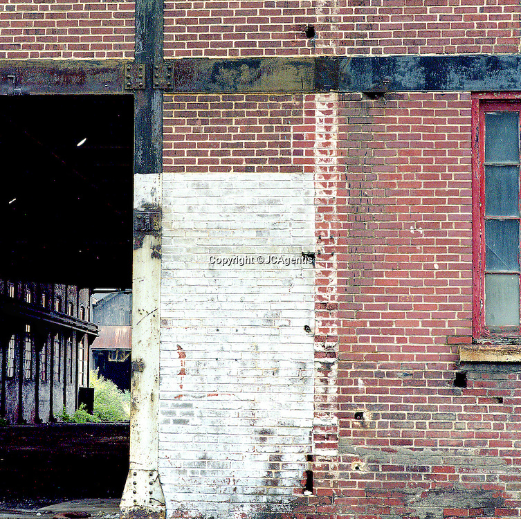 Color image of Historic buildings of Bethlehem Steel Bethlehem Pennsylvania Lehigh Valley