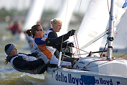 08_003787 © Sander van der Borch. Medemblik - The Netherlands,  May 24th 2008 . Day 4 of the Delta Lloyd Regatta 2008.