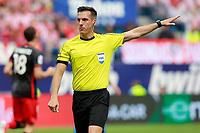 Spanish referee Xavier Estrada Fernandez during La Liga match. May 21,2017. (ALTERPHOTOS/Acero)