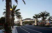 Dana Point Lantern District Archway at Del Prado
