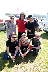 The Ray Summers backstage at Rockness, Sunday 14th June 2009..©2009 Michael Schofield. All Rights Reserved..