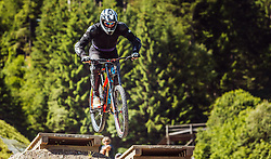07.06.2016, Bikepark, Leogang, AUT, OeSV, Ski Alpin, Trainingslehrgang Mountainbike, im Bild Werner Franz, Trainer während eines Mountainbike Grundkurses der ÖSV Abfahrer // during a mountain Basic training of the Austrian Ski Alpine downhill team at the Bikepark, Leogang, Austria on 2016/06/07. EXPA Pictures © 2016, PhotoCredit: EXPA/ JFK