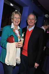 NEIL & CHRISTINE HAMILTON at a private screening of the film The Iron Lady hosted by nightclub Maggie's held at Cineworld, King's Road, London on 19th January 2012.