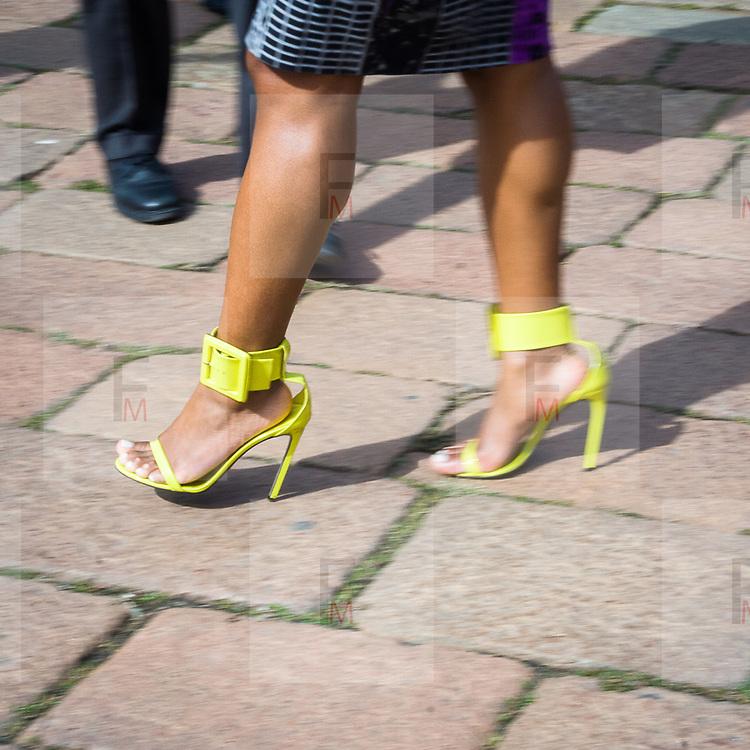 Secondo giorno della Settimana della Moda a Milano edizione 2013<br /> <br /> Second day of Milan Fasion Week 2013 edition