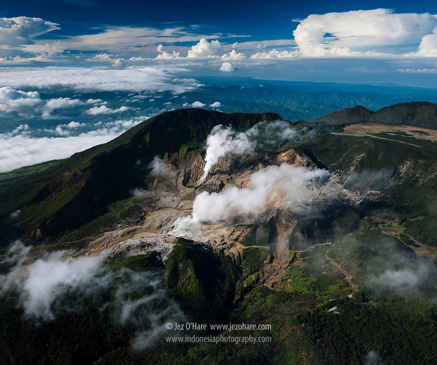 Mount Papandayan, Garut, West Java, Indonesia