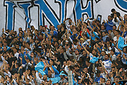 Fans of OM during the French Championship Ligue 1 football match between Olympique de Marseille and Toulouse FC on September 24, 2017 at Orange Velodrome stadium in Marseille, France - Photo Philippe Laurenson / ProSportsImages / DPPI