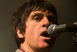 Jonny Marr on stage at The Cambridge Junction, UK, March 12, 2013.  Photo by Matthew Power / i-Images...