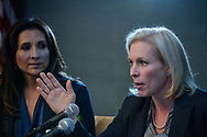 Sen. Kirsten Gillibrand (D-NY) speaks at 'She Should Run' conference in Washington, DC. 2012