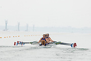 2005, World Rowing Championships, Nagaragawa International Regatta Course, Gifu, JAPAN: Monday  29.08.2005. FRA LW4X Bow, Solenne Giraudi, Coralie Ribeil, Caroline Freslon-Bette and Emmanuelle Sarda.  © Peter Spurrier/Intersport Images - email images@intersport-images.com