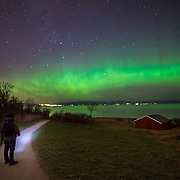 The shot has been taken in Dupvika in Trondheim