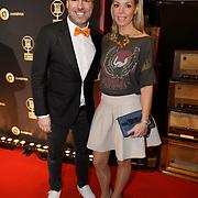 NLD/Hilversum/20190131 - Uitreiking Gouden RadioRing Gala 2019, Barry Paf en Patricia van Liempt