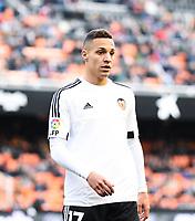 Valencia's  Rodrigo  during Spanish King's Cup match. January 6, 2016. (ALTERPHOTOS/Javier Comos)