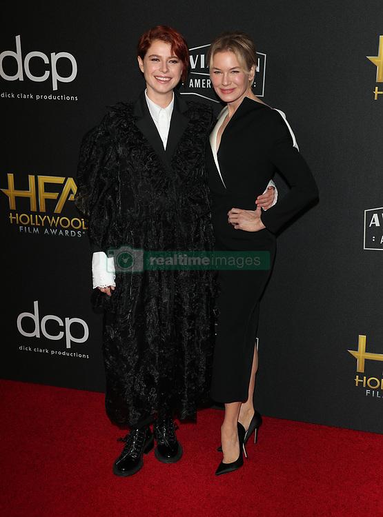 2019 Hollywood Film Awards. 03 Nov 2019 Pictured: Renee Zellweger, Jessie Buckley. Photo credit: Jen Lowery / MEGA TheMegaAgency.com +1 888 505 6342