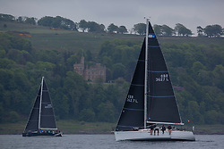 Day 2 Scottish Series, SAILING, Scotland.<br /> <br /> Animal, First 36.7, 3627L, CCC/RNCYC<br /> <br /> The Scottish Series, hosted by the Clyde Cruising Club is an annual series of races for sailing yachts held each spring. Normally held in Loch Fyne the event moved to three Clyde locations due to current restrictions. <br /> <br /> Light winds did not deter the racing taking place at East Patch, Inverkip and off Largs over the bank holiday weekend 28-30 May. <br /> <br /> Image Credit : Marc Turner / CCC