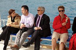 Student Exchange Group On Sightseeing Tour On Mediterranean
