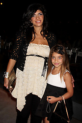 TERESA GIUDICE  from ''The Real Housewives of New Jersey'' and daughter GIA GIUDICE at Bravo's ''The Fashion Show'' Finale at Cipriani Wall Street in New York City on 06-26-2009.  ©2009. K59585HMc (Credit Image: © Henry McGee/ZUMAPRESS.com)