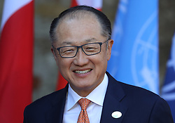 27.05.2017, Taormina, ITA, 43. G7 Gipfel in Taormina, im Bild Jim Yong Kim - Präsident der Weltbank // Jim Yong Kim - President of the World Bank during the 43rd G7 summit in Taormina, Italy on 2017/05/27. EXPA Pictures © 2017, PhotoCredit: EXPA/ SM<br /> <br /> *****ATTENTION - OUT of GER*****