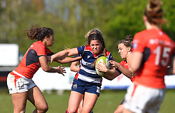 Sydney Gregson of Bristol Ladies - Mandatory by-line: Paul Knight/JMP - 09/04/2017 - RUGBY - Cleve RFC - Bristol, England - Bristol Ladies v Saracens Women - RFU Women's Premiership Play-off Semi-Final