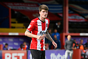 Liam McAlinden (19) of Exeter City during the EFL Sky Bet League 2 match between Exeter City and Lincoln City at St James' Park, Exeter, England on 19 August 2017. Photo by Graham Hunt.