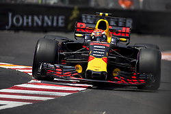 May 25, 2017 - Monaco, Monaco - 33 VERSTAPPEN Max from Netherland of Red Bull Tag Heuer RB13 during the Monaco Grand Prix of the FIA Formula 1 championship, at Monaco on 25th of 2017. (Credit Image: © Xavier Bonilla/NurPhoto via ZUMA Press)