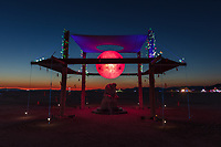 Monument of Indecision by: Henry Washer from: Petaluma, CA year: 2018 My Burning Man 2018 Photos:<br />