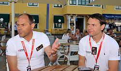 Hakan Karlsson, CEO of Sigma and Per Kinding, Sigma Business Manager. Photo: Chris Davies/WMRT