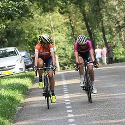 02-09-2017: Wielrennen: Boels Ladies Tour: Vaals  <br />Attack van Vleuten and van der Breggen