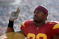 7 October 2006:  NCAA College Football Pac-10 USC Trojans 26-6 win over the Washington Huskies at the LA Coliseum during a sunny saturday game in Los Angeles, CA.<br />