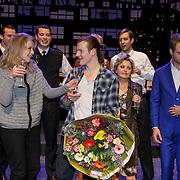 NLD/Amsterdam/20150213 - Supriseparty GTST collega's jarige Guido Spek,